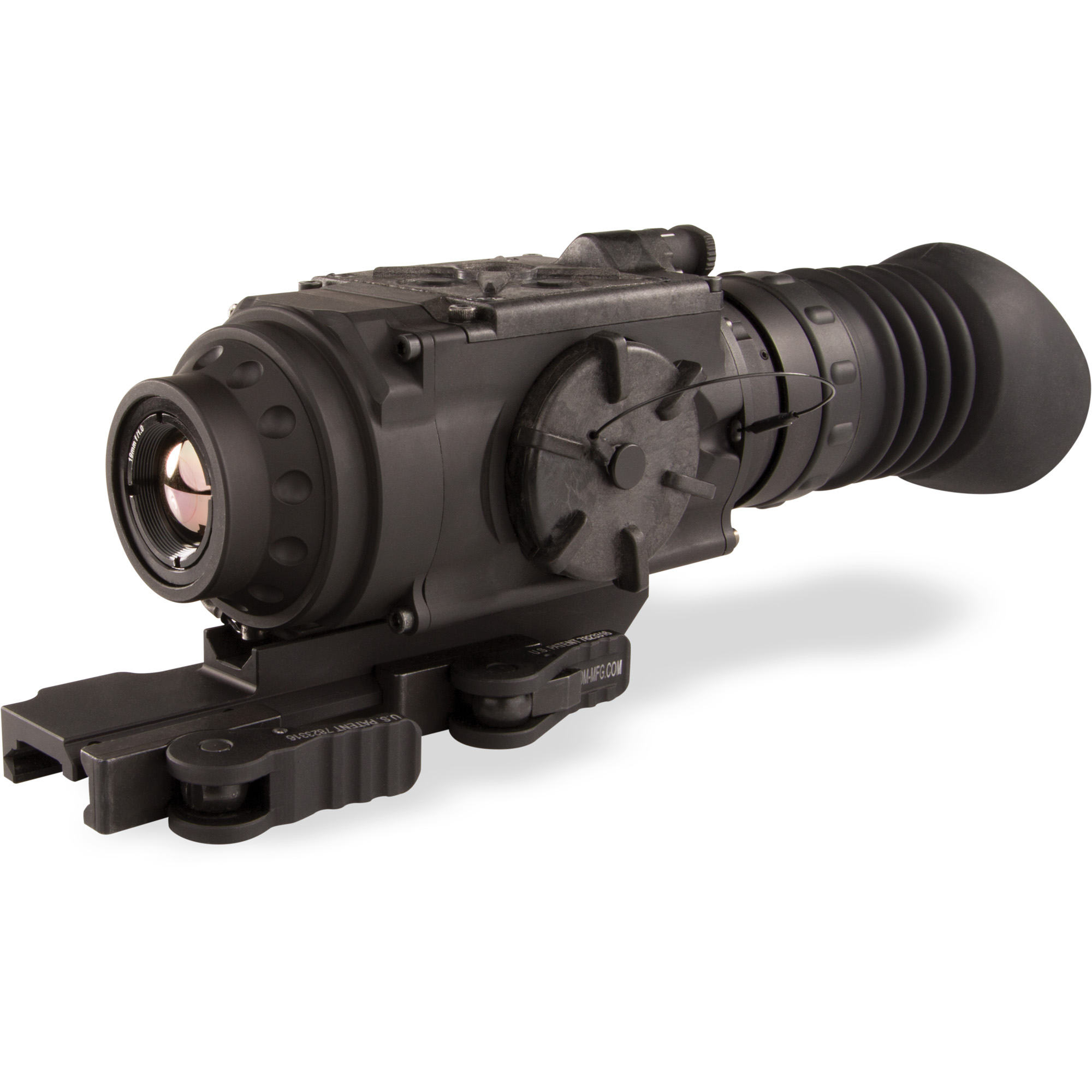 FLIR ThermoSight Pro PTS233 320X256 Microbolometer 60HZ 1x, 2x, 4x Digital Zoom White Hot Black Hot Rainbow High Contrast Ironbow Sepia Arctic Outdoor Alert Dot 4 MOA Line Dot Cross Center Dot Cross Crosshair and No Reticle