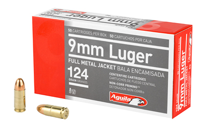 AGUILA 9MM 124GR FMJ 50/1000