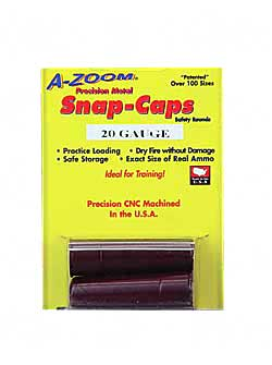 AZOOM SNAP CAPS 20GA 2/PK