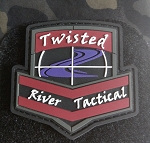 Twisted River Tactical Morale Patch (PVC)