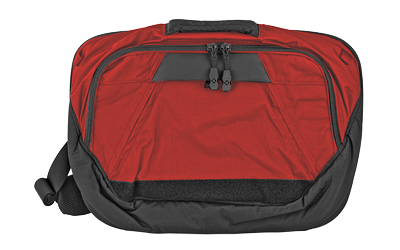 VERTX DEAD LTTR SLNG BAG BLK/RED